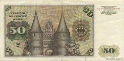 50 Deutsche Mark ALLEMAGNE FÉDÉRALE  1970 P.33a pr.SUP