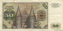 50 Deutsche Mark ALLEMAGNE  1970 P.033a TTB+