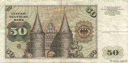 50 Deutsche Mark ALLEMAGNE FÉDÉRALE  1977 P.33b TTB
