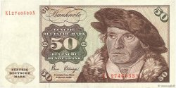 50 Deutsche Mark ALLEMAGNE FÉDÉRALE  1980 P.33d pr.TTB