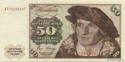 50 Deutsche Mark ALLEMAGNE FÉDÉRALE  1980 P.33d SUP+