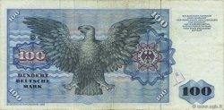 100 Deutsche Mark ALLEMAGNE FÉDÉRALE  1980 P.34d TTB