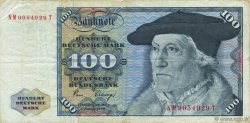 100 Deutsche Mark ALLEMAGNE FÉDÉRALE  1980 P.34d TB+