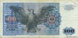 100 Deutsche Mark ALLEMAGNE  1980 P.034d TB+