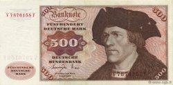 500 Deutsche Mark ALLEMAGNE  1977 P.035b SUP