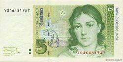 5 Deutsche Mark ALLEMAGNE  1991 P.037 SPL+