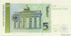 5 Deutsche Mark ALLEMAGNE FÉDÉRALE  1991 P.37 SPL+