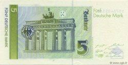 5 Deutsche Mark ALLEMAGNE  1991 P.037 NEUF