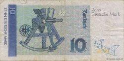 10 Deutsche Mark ALLEMAGNE FÉDÉRALE  1989 P.38a TB
