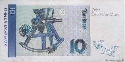 10 Deutsche Mark ALLEMAGNE FÉDÉRALE  1989 P.38a TTB