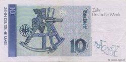 10 Deutsche Mark ALLEMAGNE  1989 P.038a SUP