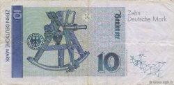 10 Deutsche Mark ALLEMAGNE  1993 P.038c TTB