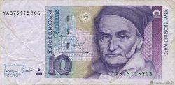 10 Deutsche Mark ALLEMAGNE FÉDÉRALE  1993 P.38c TTB