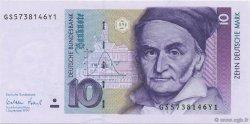 10 Deutsche Mark ALLEMAGNE  1999 P.038d NEUF