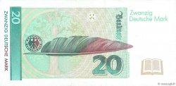 20 Deutsche Mark ALLEMAGNE FÉDÉRALE  1991 P.39a TTB