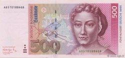 500 Deutsche Mark ALLEMAGNE  1991 P.043a pr.NEUF