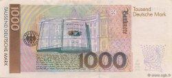 1000 Deutsche Mark ALLEMAGNE FÉDÉRALE  1991 P.44a SPL+