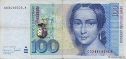 100 Deutsche Mark ALLEMAGNE  1996 P.046 TTB