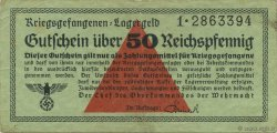 50 Reichspfennig ALLEMAGNE  1939 R.517 TTB