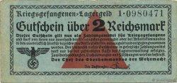 2 Reichsmark ALLEMAGNE  1939 R.519a pr.TTB