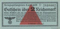 2 Reichsmark ALLEMAGNE  1939 R.519a NEUF