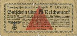 5 Reichsmark ALLEMAGNE  1939 R.520 B