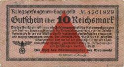 10 Reichsmark ALLEMAGNE  1939 R.521 TB+