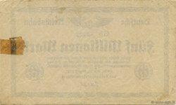 5 Millions Mark ALLEMAGNE  1923 PS.1013b TTB