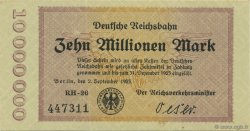 10 Millions Mark ALLEMAGNE  1923 PS.1014 SUP