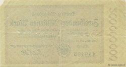 200 Millions Mark ALLEMAGNE  1923 PS.1018 TTB