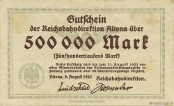 500000 Mark ALLEMAGNE  1923 PS.1111