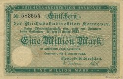 1 Million Mark ALLEMAGNE  1923 PS.1255 TTB+