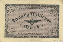20 Millions Mark ALLEMAGNE  1923 PS.1287 SUP