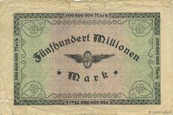 500 Millions Mark ALLEMAGNE  1923 PS.1289 TTB