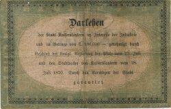 1 Gulden ALLEMAGNE  1870 P.-- TB+