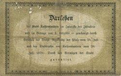 2 Gulden ALLEMAGNE  1870 P.-- TB