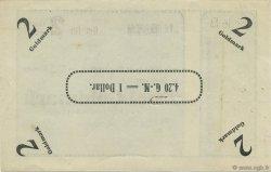 2 Goldmark ALLEMAGNE Oberstein-Idar 1923 Mul.3570- SPL