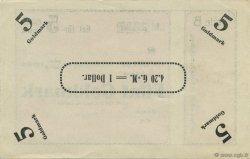5 Goldmark ALLEMAGNE  1923 Mul.3570- pr.NEUF
