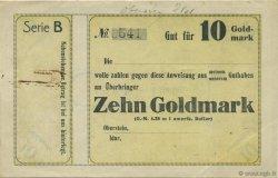 10 Goldmark ALLEMAGNE Oberstein-Idar 1923 Mul.3570- SUP+