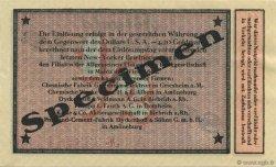 1/2 Dollar ALLEMAGNE Biebrich 1923 Mul.0420s SPL