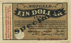 1 Dollar ALLEMAGNE Biebrich 1923 Mul.0420s pr.NEUF