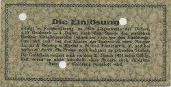 1 Goldmark ALLEMAGNE  1923 Mul.2525.1 TTB+