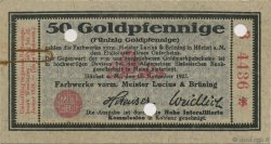 50 Goldpfennige ALLEMAGNE  1923 Mul.2525.3 SUP