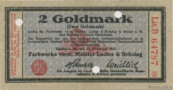2 Goldmark ALLEMAGNE  1923 Mul.2525.4b pr.NEUF