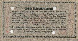 5 Goldmark ALLEMAGNE  1923 Mul.2525.7 SPL
