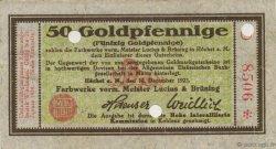 50 Goldpfennige ALLEMAGNE Hochst 1923 Mul.2525.8 SUP