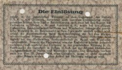 10 Goldmark ALLEMAGNE Hochst 1923 Mul.2525.12 SUP