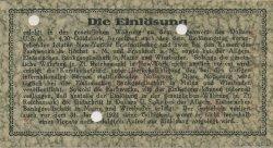 1 Dollar ALLEMAGNE Hochst 1923 Mul.2525.15 SUP+