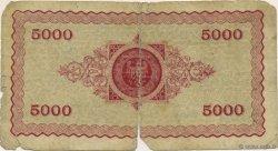 5000 Mark ALLEMAGNE Aachen - Aix-La-Chapelle 1923  B