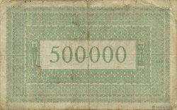 500000 Mark ALLEMAGNE Aachen - Aix-La-Chapelle 1923  TB
